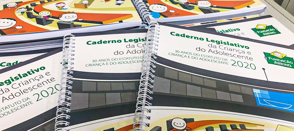 Caderno Legislativo 2020 traz análise das principais proposições legislativas para a infância e a adolescência